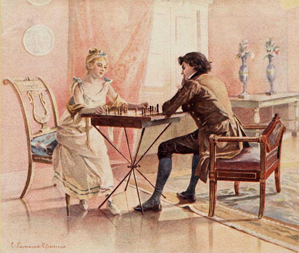 Шахматы на английском